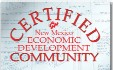 Certified NM Economic Development Community